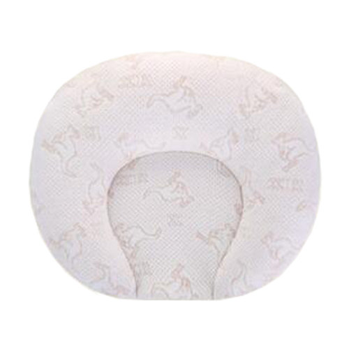 Breathable Soft Small Pillow Latex Prevent Flat Head Pillows For 0-1 Years, NO.5