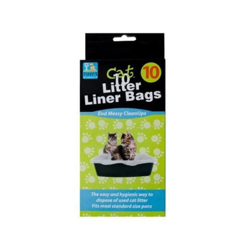 Kole Imports DI018-48 28 x 24 in. Litter Box Liner Bags - Pack of 48