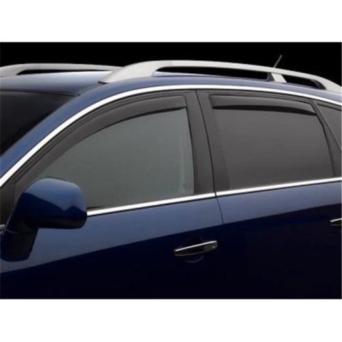Weathertech W24-82701 Front & Rear Side Window Deflectors for 2012-2014 Toyota Camry, Dark Smoke