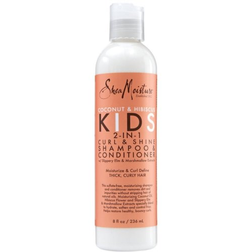 Shea Moisture Kids Coconut & Hibiscus 2-in-1 Shampoo & Conditioner 236ml