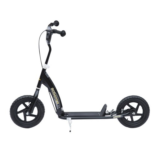 Homcom Kids' Ride-On Retro Scooter With Brakes