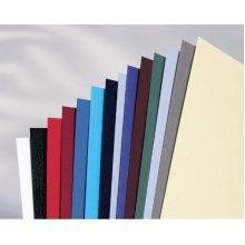 GBC LeatherGrain Binding Covers 250gsm A4 Dark Grey (100) binding cover