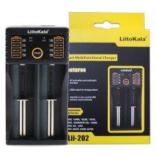 LiitoKala Engineer Lii-202  Intelligent 18650 NiMH USB Battery Charger