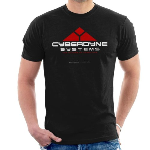 Cyberdyne Systems Future Of Computing Terminator Men's T-Shirt