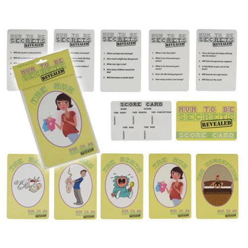 Alandra Baby Shower Game - Mum Secrets Revealed -  shower baby mum party game secrets revealed fun games