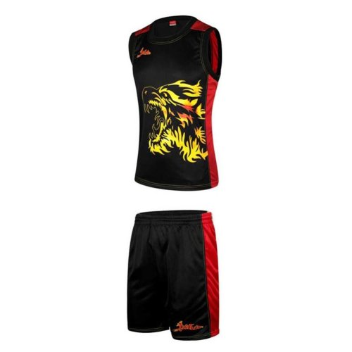 Men's Adult Basketball Training Jersey and Shorts Set