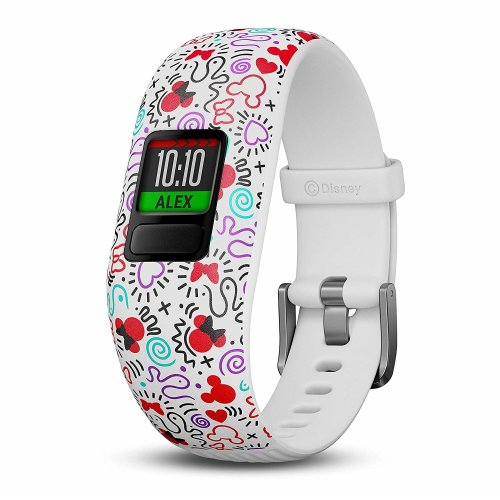 Garmin Vivofit Jr. 2 - Adjustable Minnie Mouse Strap | Kids' Activity Watch
