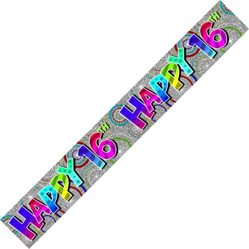 Age 16 Birthday Banner Unisex