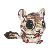 2 Pcs-Embroidery Applique Iron on Appliques Animal Patch Applique Patches Cloth