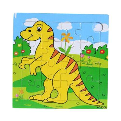 Dinosaur Wooden Puzzle Puzzles Children Puzzles 2 Pcs