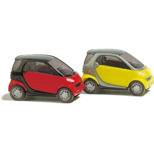 N gauge Vehicles - N Smart Cars - Busch 8350 P3