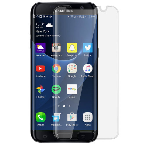 9H incurved glass screen protector for Samsung Galaxy S7 Edge – Ultra  clear
