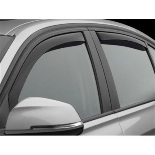 Weathertech W24-82706 Front & Rear Side Window Deflectors for 2012-2018 BMW 3-Series, Dark Smoke