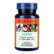 Higher Nature Alpha Lipoic Acid 30 Capsules