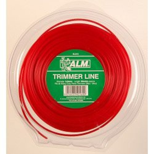 3 x 5kg Giant Red Trimmer Line -  line x alm trimmer sl016 3mm heavyduty 58m giant 5kg