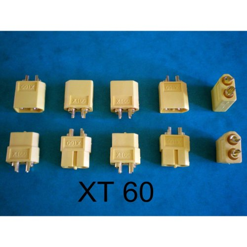 XT 60 Battery Connectors x 5 Pairs.