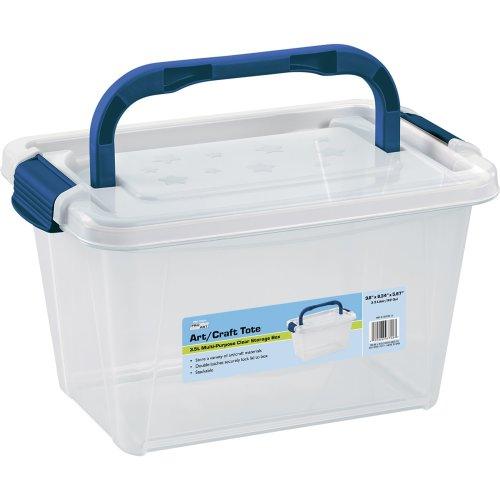 Pro Art Storage Box W/Organizer Top-3.5L Translucent