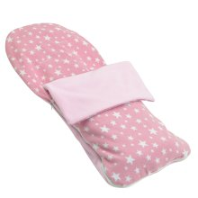 Snuggle Summer Footmuff Compatible With Obaby Condor 4s - Light Pink Star