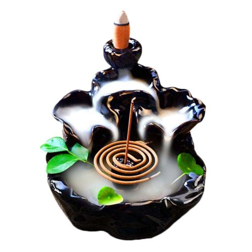 Ceramic Porcelain Cones Sticks Holder Incense Burner