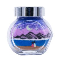 [Face to Sea] Beautiful Handmade Sand Picture with Bottle