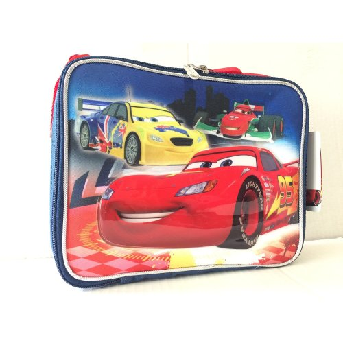 Lunch Bag - Disney - Cars Lightning Mcqueen New 622497