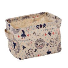 Linen Storage Basket Useful Household Storage Containers [Little Girl]