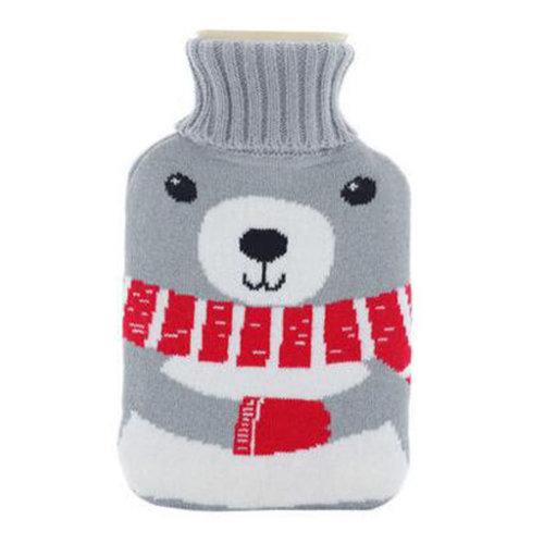 Warm Cute Hot-Water Bottle Water Bag Water Injection Handwarmer Pocket Cozy Comfort,L