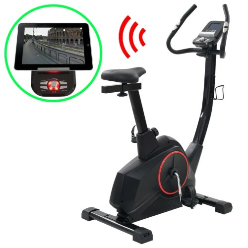 vidaXL Magnetic Exercise Bike with Pulse Measurement Programmable Bicycle