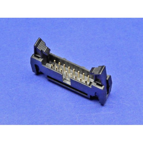 Latch Header 16 WAY Straight PCB Mounting TI16LHS PACK of 3