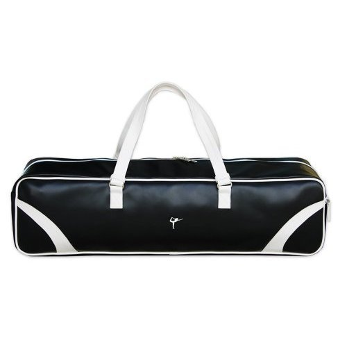 Wai Lana Yoga Retro Bag, Black with White