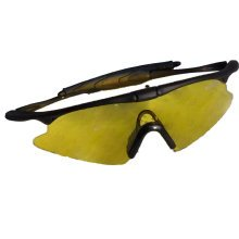 Pro Riding Goggles/Ski Goggles/Sand Prevention Goggles/Shooting Goggles, Yellow