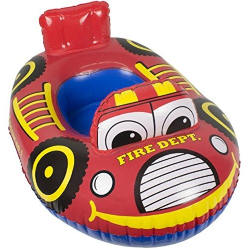 Poolmaster 05402 Learn-To-Swim Transportation Baby Float Rider - Fire Engine