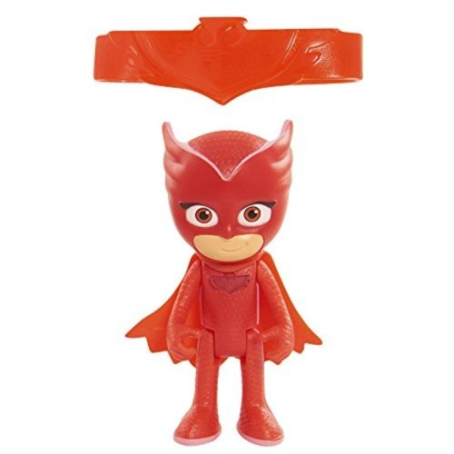 Just Play PJ Masks Light Up Owlette Figure with Amulet Wristband