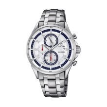 Festina F6853/1 Men's Chronograph Display Stainless Steel Strap Watch