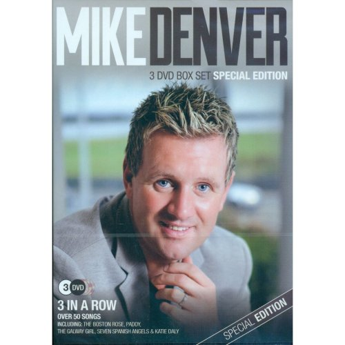 Mike Denver - 3 In A Row Special Edition 3DVD Box Set