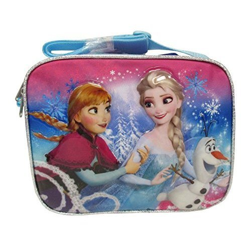 Lunch Bag - Frozen - Elsa & Anna Kit Case Girls Princess New 622367