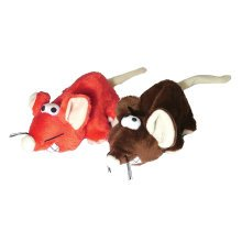 "Rosewood Jolly Moggy Cheeky Mice 5"" Cat Toy"