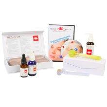 White Lotus Deluxe Anti-Ageing Derma Roller 0.5mm Kit 340 Needle Hypoallergenic