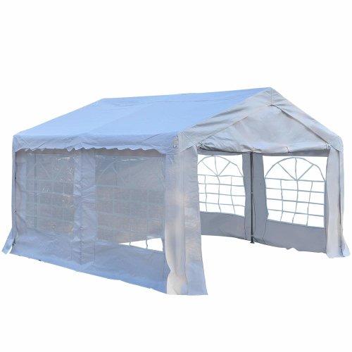 Outsunny Waterproof Gazebo - 4 x 4m | Garden Marquee