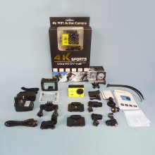 TRIXES 4K WIFI Action Camera