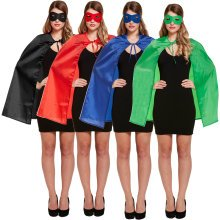 Superhero Cape & Eye Mask