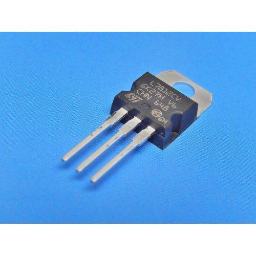 Voltage Regulators L7812CV +12Vdc TO-220 package PACK of 5
