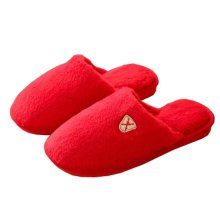 Womens Winter Warm & Cozy  Indoor Shoes House Slipper, Red