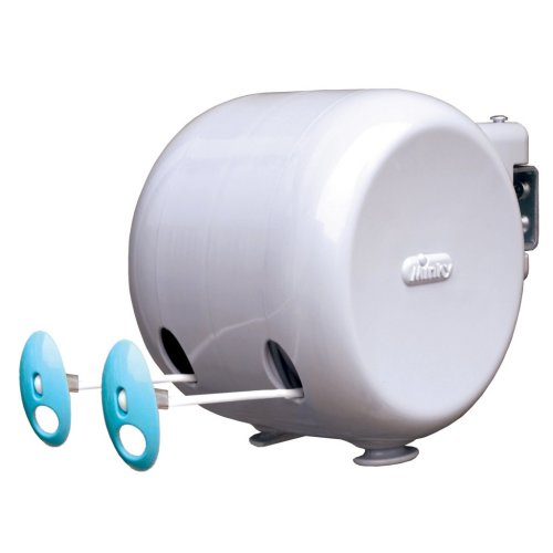 30m Retractable Reel Washing Line - Minky Clothes Outdoor 15m -  line retractable minky washing clothes reel 30m outdoor 15m
