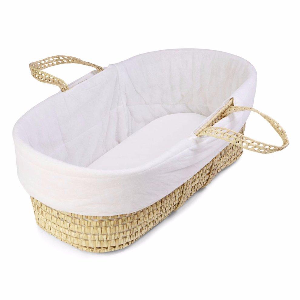 code promo 94349 20049 Quilted Moses Basket Liner | Baby Basket Liner