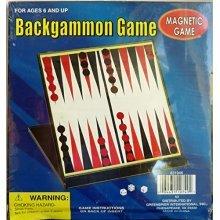 Magnetic Backgammon Game