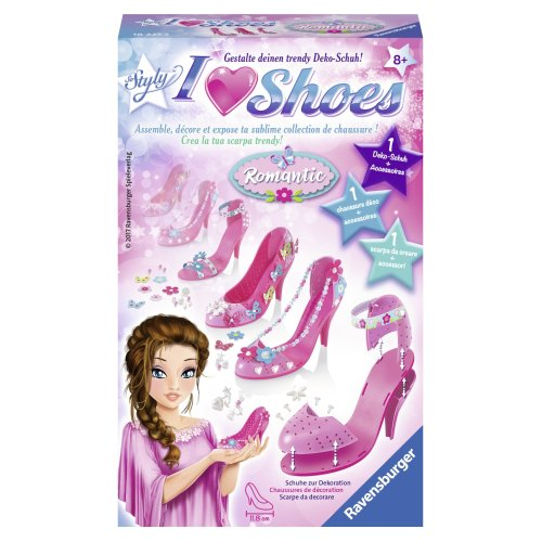 "Ravensburger 182213 ""So Styly I Love Shoes Romantic Craft Kit"