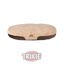 Trixie Malu Bed Cushion 60 × 40cm, Brown-light Brown - Pillow Brownlight New -  trixie pillow malu brownlight new cats dogs various sizes