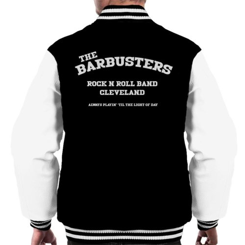 Light Of Day The Barbusters Rock N Roll Band Cleveland Men's Varsity Jacket