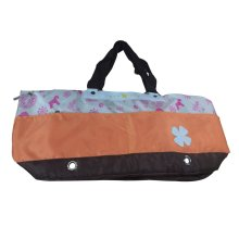 Portable Soft Pet Carrier Tote Bag for Dogs and Cats (L55×W17×H26cm, Orange)